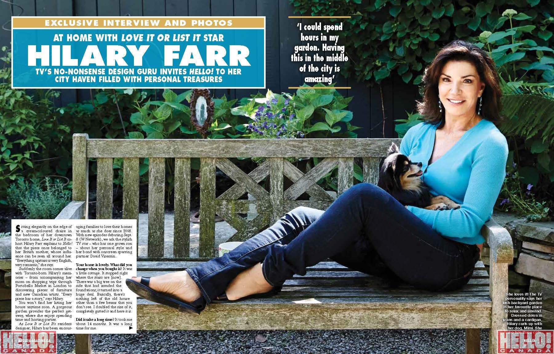Hilary Farr event